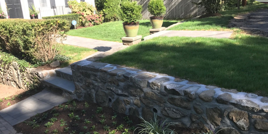 Wall Project in Darien, CT